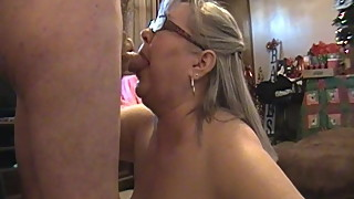 Kim Bates gags on cum shot. Hit the back of her throat.