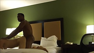 Fucking his cheating wife doggy