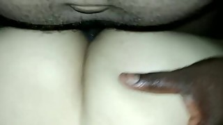 My friend fucking my neighbour's wife in her ass. It hurts but craves bbc