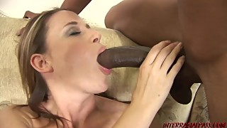 Wife Kylie Worthy gets her BBC dream come true and squirts every where