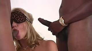 Cuckold Wife's Blows Bull's Blindfolded