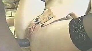 Hotwife eats ass gets anal and sucks and swallows BBC KOLI