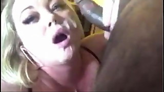 Busty wife is a BBC addict