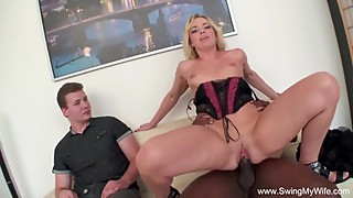 Euro Swinger Fucks BBC Interracial