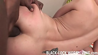 Watch me take every inch of two big black cocks