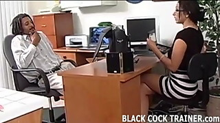 I think I might be addicted to big black cock