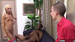 Cuckold watching his Hotwife Katerina Kay Getting Fucked