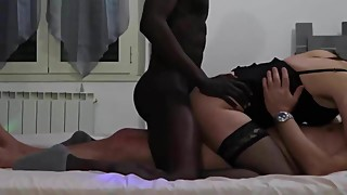 Threesome whit black - Part 4 of 4