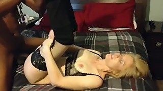 Sexi Blonde wife enjoy BBC