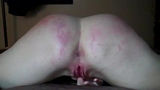 CUMMING WITH MY FINGER IN HER ASS