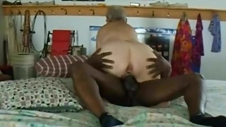 Interracial Granny Cuckhold