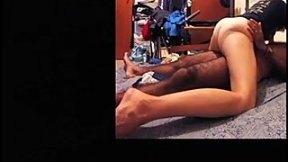 Hairy amateur wife squeezing hard ass cowgirl orgasm
