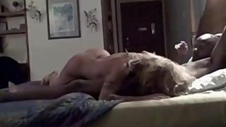 Blonde hotwife cums and then gets seeded by BBC