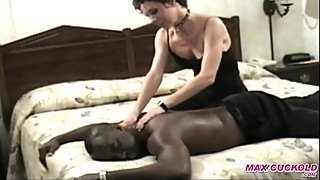 maxcuckold.com Milf Give Massage and Fuck Interracial