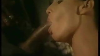 Cuckold watches wife with bbc