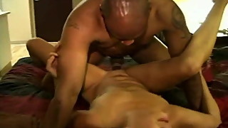 mature latin wife with piercings enjoys bbc creampie