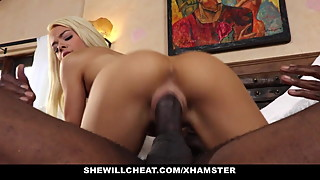 SheWillCheat - Slutty Wife Gargles BBC