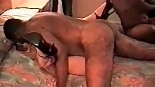 Cuckolds MILF passed around by BBC bulls Husband is sissy