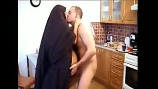 Hijab Burka wife cheating gets fucked